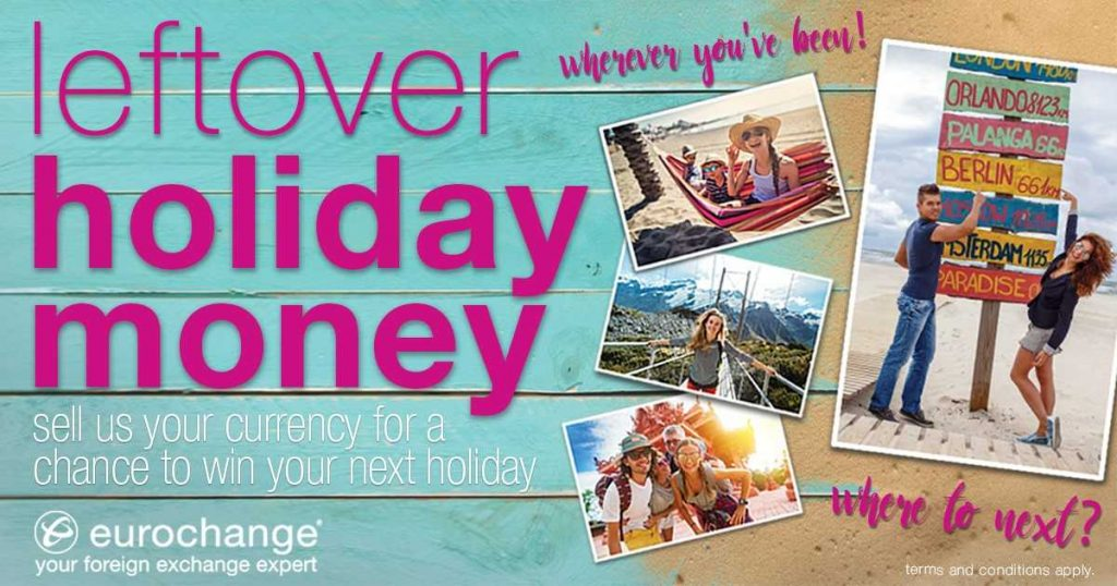 Win your next holiday with Eurochange